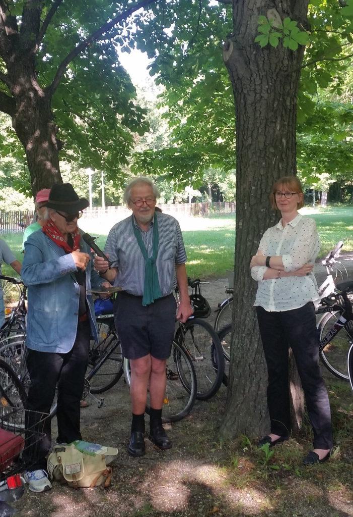 Begrüßung durch Roland Girtler, Hubert Christian Ehalt, Ursula Storch