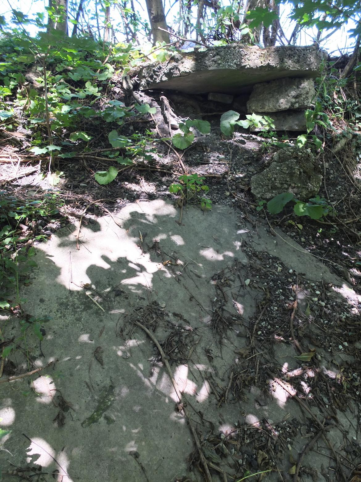 Bild einer Steinplatte