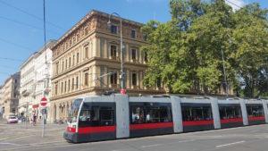 Palais Epstein an der Wiener Ringstraße