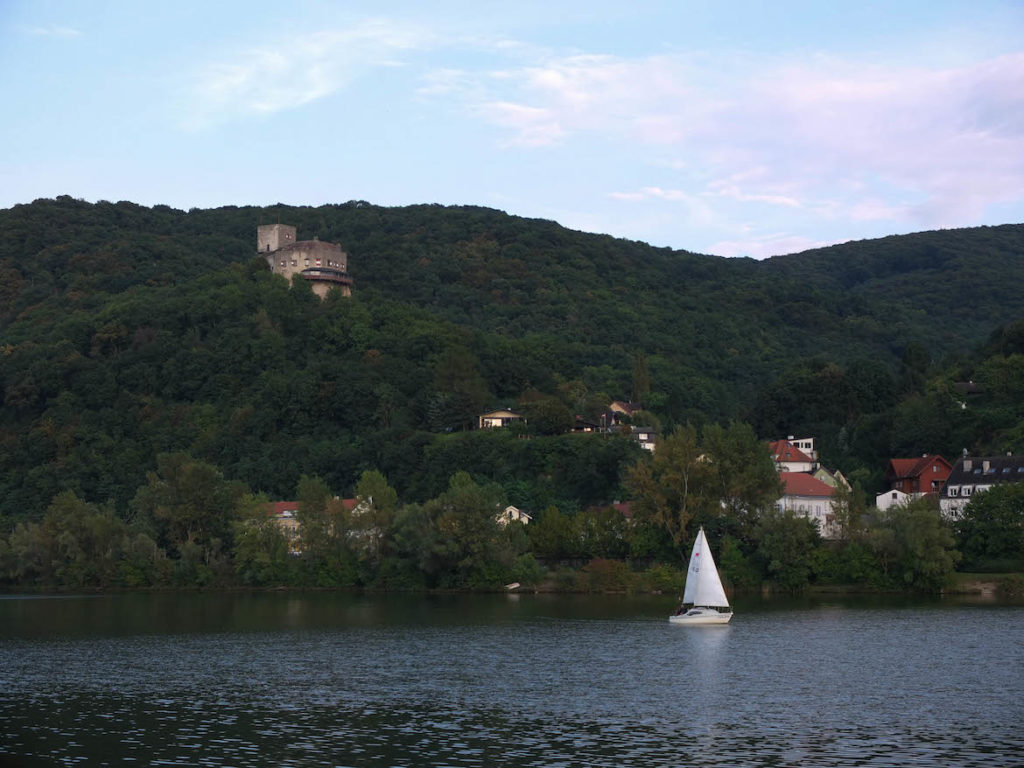 Segelboot Greifenstein