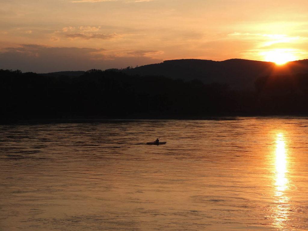 Sonnenuntergang Greifenstein
