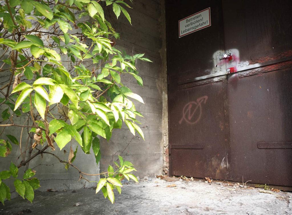 Eingang Bunker Gerichtsgasse