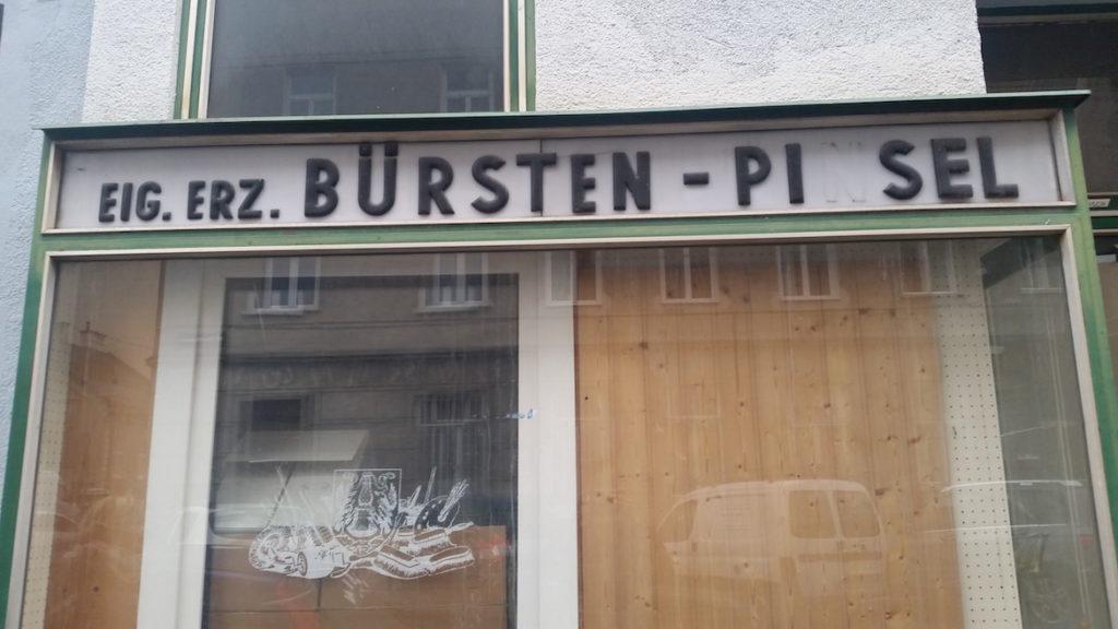 Bürsten - Pi(n)sel